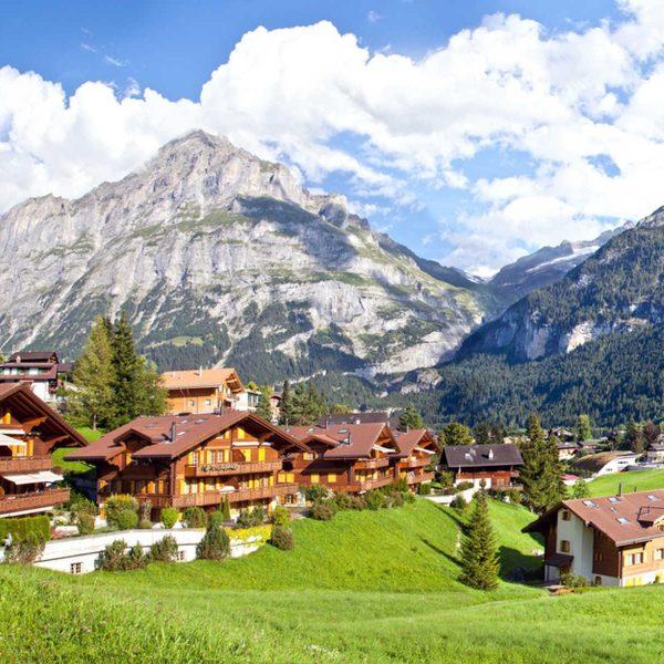 Switzerland bike tour